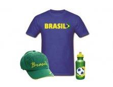 Kit Camiseta Boné e Squeeze Personalizado