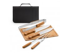 Kit Churrasco Maleta Inox